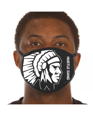Chief Face Mask Two (Black)