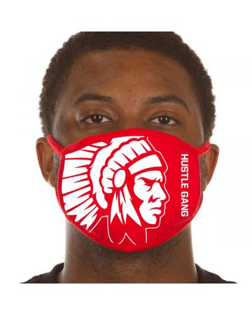 Chief Face Mask Two (Red)
