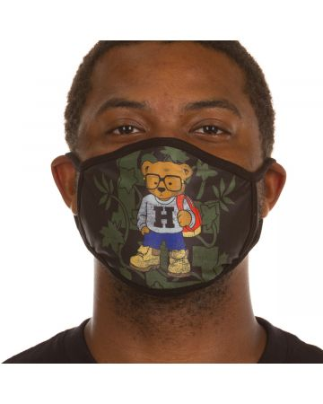 Bear Lockup Face Mask
