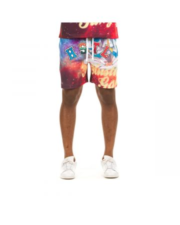 Nebula Short (Fuchsia Purple)