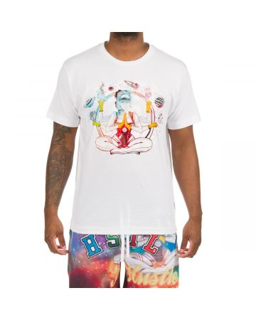 Nebula SS Knit (Bleach White)