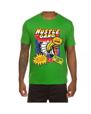 Comic Book Classic S Tee (Online Green)
