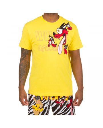 Howling Wolf SS Knit (Vibrant Yellow)