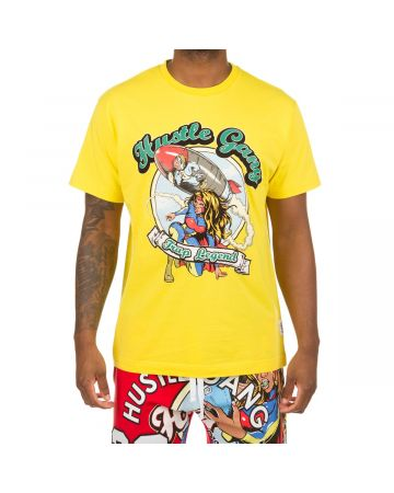 Duck Down SS Knit (Vibrant Yellow)
