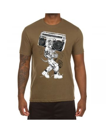 Pit Bull Box SS Tee (Military Green)