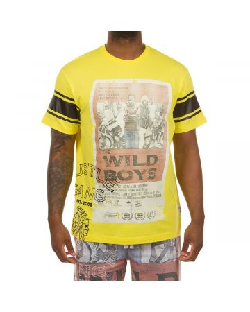 Poster Boys SS Knit (Blazing Yellow)