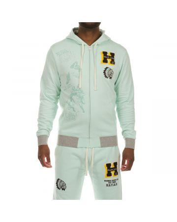 Goal Line Hoodie (Honeydew)