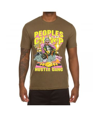 Peoples Champ SS Tee (Military Green)