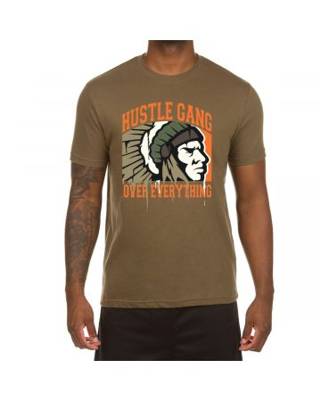 Full Drip Chief SS Tee (Military Green)