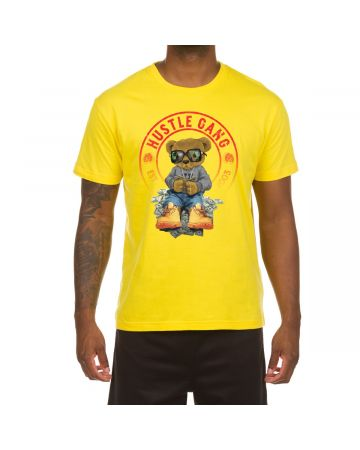 The Count SS Tee (Empire Yellow)