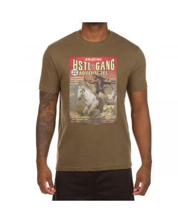 HSTL Adventure SS Tee (Military Green)