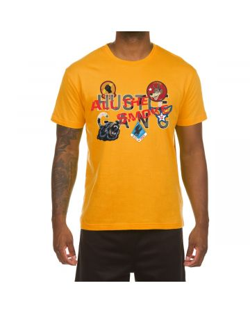 Decorated SS Tee (Old Gold)