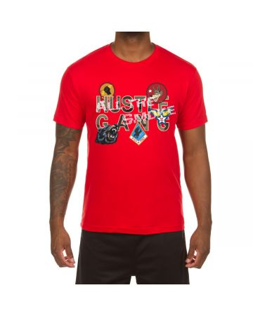 Decorated SS Tee (Racing Red)