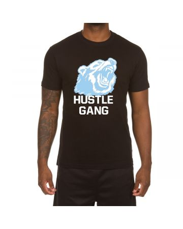 The Grizzly SS Tee (Blk/Blue)