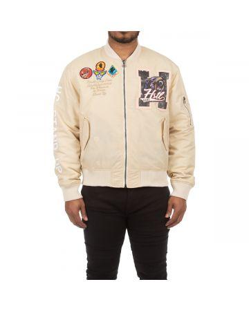 Laser Lines Jacket (Biscotti)