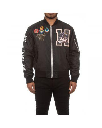 Laser Lines Jacket (Black)