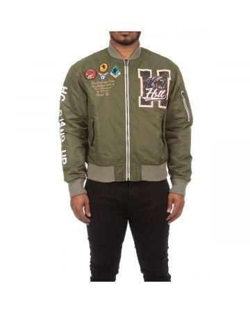 Laser Lines Jacket (Deep Lichen Green)
