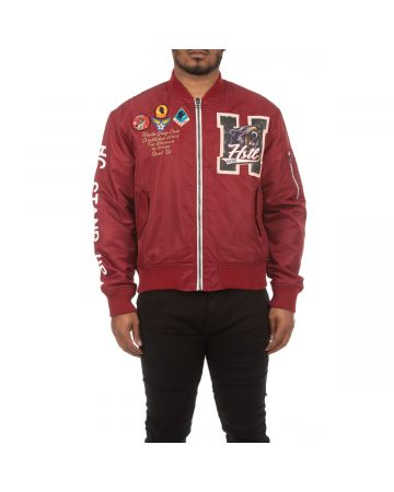 Laser Lines Jacket (Sun Dried Tomato)
