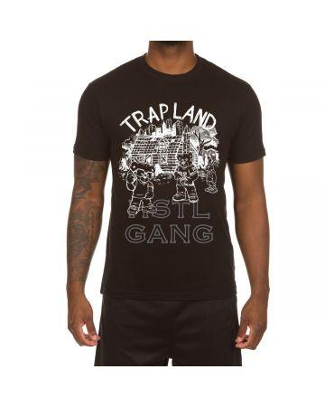Trap Land SS Tee (Black)