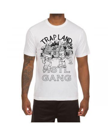 Trap Land SS Tee (White)