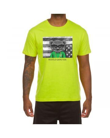 Unrest Hustle SS Tee (Acid Lime)