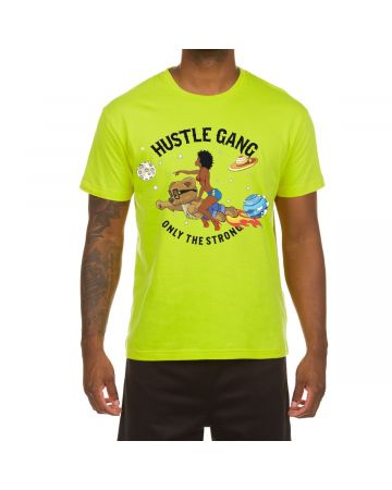 Planet Moves SS Tee (Acid Lime)