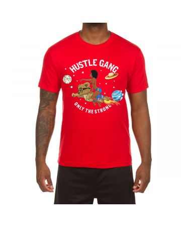 Planet Moves SS Tee (Red)