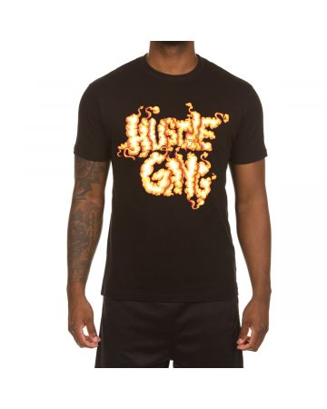 Combustable SS Tee (Black)