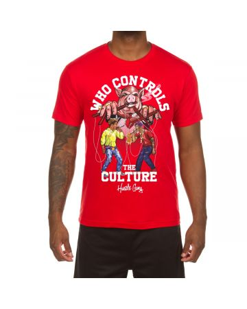 Who Controls SS Tee (Racing Red)