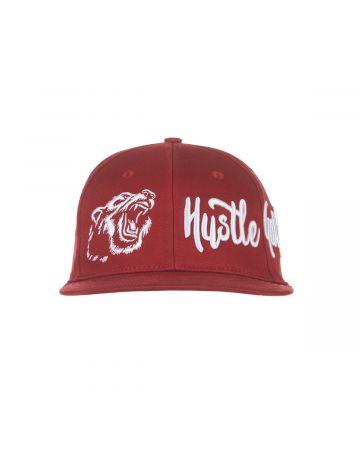 Grizz Hunter Snapback Hat (Syrah)