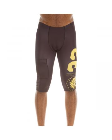 Fast Start Compression Short (Black/Lemon)
