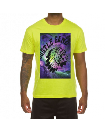 Star Funk SS Tee (Acid Lime)