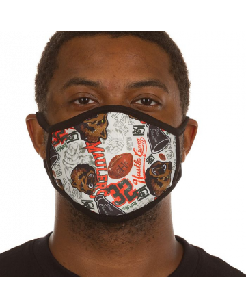 Varsity Collage Face Mask