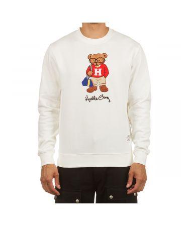 Hustle Bear Crew (Cream)