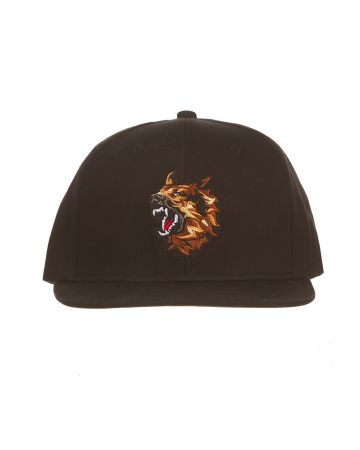 Canine Snapback Hat (Black Beauty)