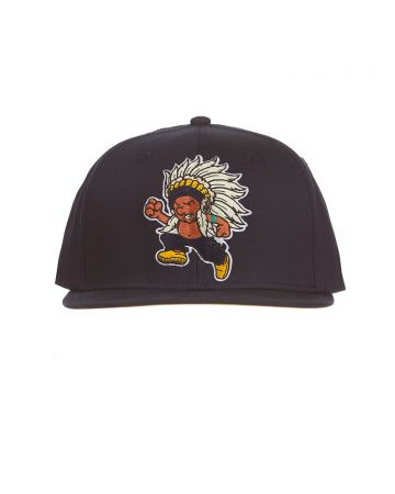 Running Chief Snapback Hat (Navy Blazer)
