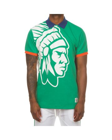 Simple Chief SS Polo (Jolly Green)