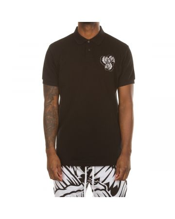 Night Game SS Polo (Black Beauty)