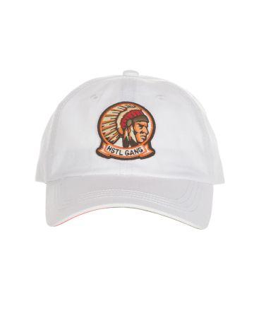 Home Plate Dad Hat (Bleach White)