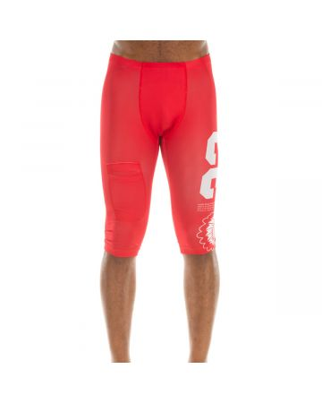 Fast Start Compression Short (Racing Red)