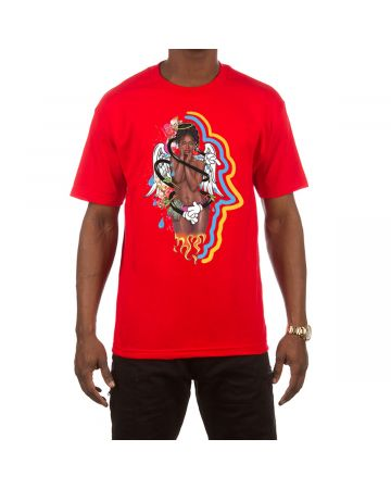 High Five SS Tee (Red)
