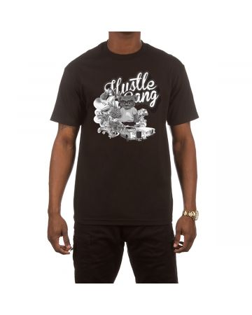 Lifestyle SS Tee (Black)