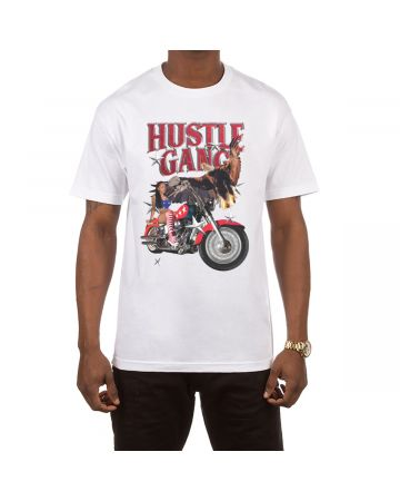 Easy Rider SS Tee (White)