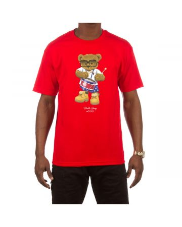 Funky Drummer SS Tee (Red)