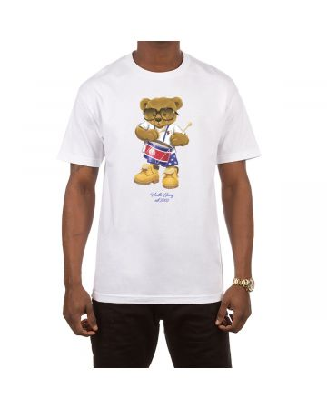 Funky Drummer SS Tee (White)
