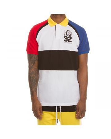 Runway SS Polo (Bleached White)