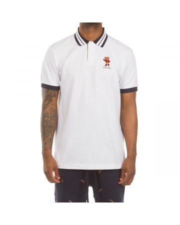 Charlie SS Polo (Bleach White)