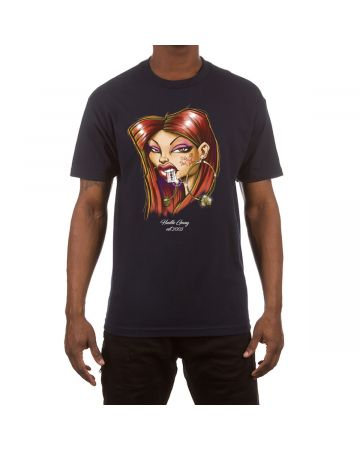 Smart Mouth SS Tee (Navy)