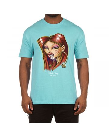 Smart Mouth SS Tee (Pool Blue)
