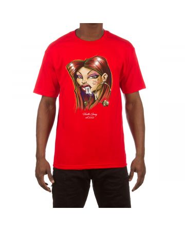 Smart Mouth SS Tee (Racing Red)